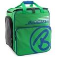 Brubaker Super Champion Skischuhtasche Helmtasche Skischuhrucksack Grün Blau