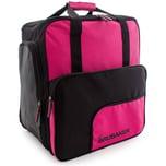 Brubaker Super Function Skischuhtasche Helmtasche Rucksack mit Schuhfach Pink Schwarz