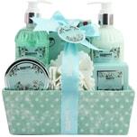 Brubaker Bade- und Dusch Set Feuchtigkeitspflege Kamille 7-teiliges Geschenkset in dekorativer Box