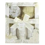 Brubaker Bade- und Dusch Set Vanille Rosen Minze Duft 5-teiliges Geschenkset