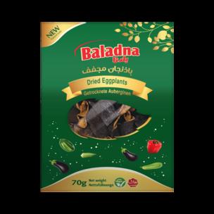 Baladna Getrocknete Auberginen - Orientalisch 70g