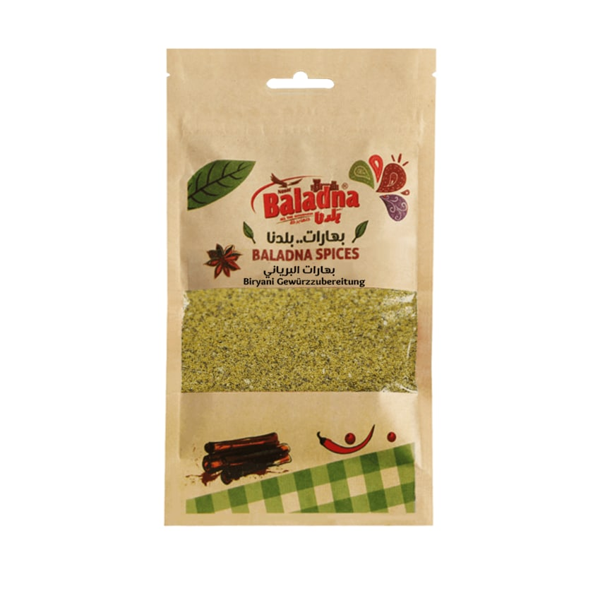 Baladna Biryani Gewürzmischung für Reis und Gemüse 110g