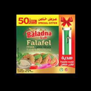 Baladna Falafel Mischung mit Kunststoffform 400g