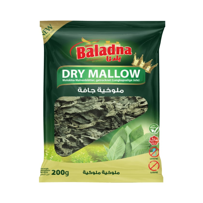Baladna Molokhia Malvenblätter getrocknet 200g