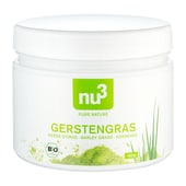 nu3 Bio Gerstengras, Pulver