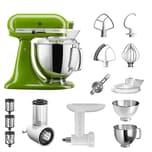 KitchenAid Küchenmaschine Artisan 5KSM175PS Starter Paket matcha