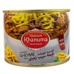 Khanum Khanuma Fertiggericht- Kichererbsen Kartoffel Eintopf 440g