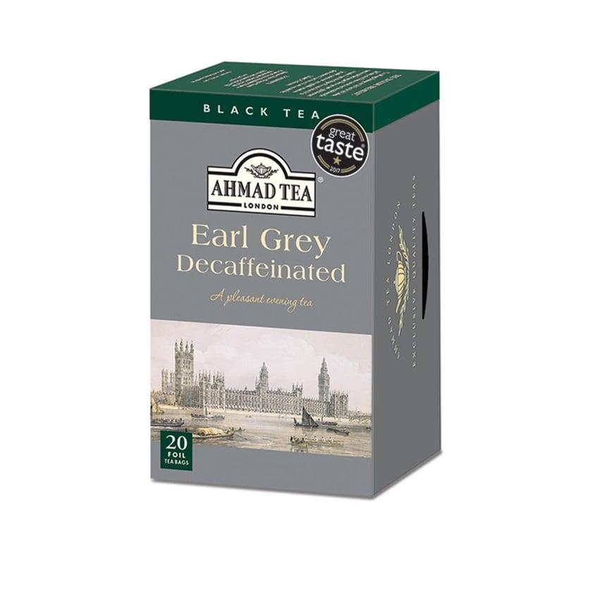 Ahmad Tea- entkoffeinierter Earl Grey 40g, 20 Beutel