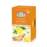 Ahmad Tea Früchtetee mit Lemone & Ginger 40g, 20 Beutel