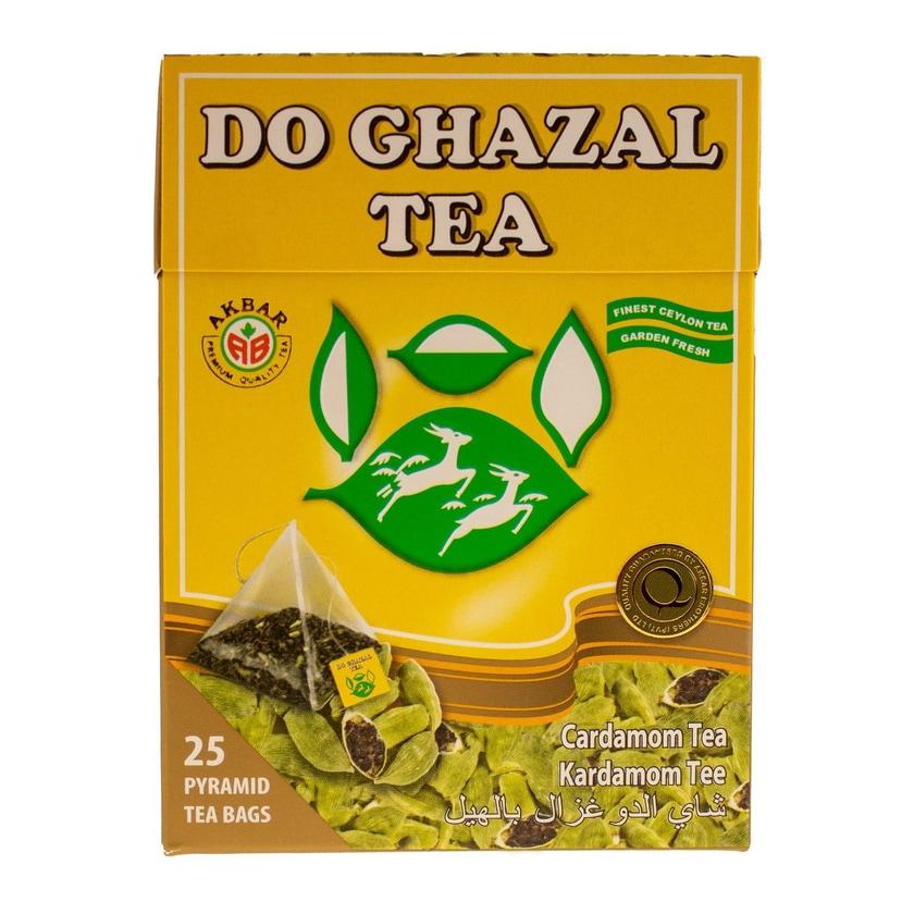 Do Ghazal Ceylon Tee mit Kardamom Aroma 50g, 25 Beutel