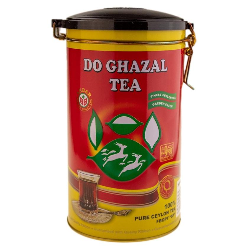 Do Ghazal Schwarzer Ceylon Tee mit schöne Dose 400g