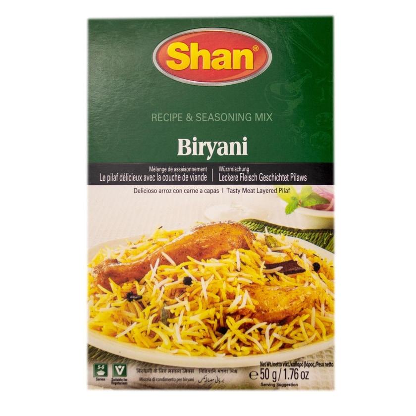 Shan- Biryani Masala Gewürzmischung für Reisgerichte 50g