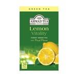 Ahmad Tea- Lemon Vitality Grüner Tee 40g, 20 Beutel
