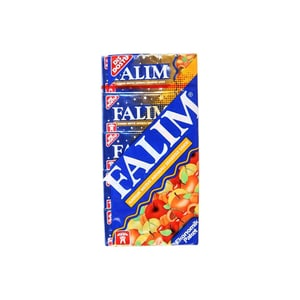 Falim Kaugummi Tutti Frutti ohne Zucker 20x5 Stück, 140g