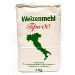 Pizzamehl Weizenmehl T405 Tipo 00 nach italienischer Art 1000g
