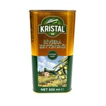 Kristal natives und raffiniertes Riviera Olivenöl 500ml
