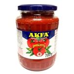 Akfa 100% Tomatenmark doppelt konzentriert ohne Zusätze im Glas 700g
