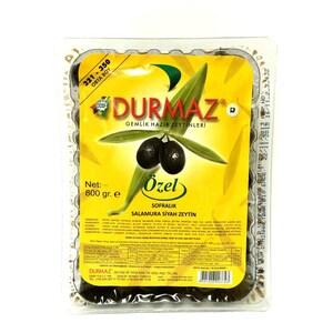 Durmaz Türkische schwarze Oliven Siyah Özel Zeytin 800g