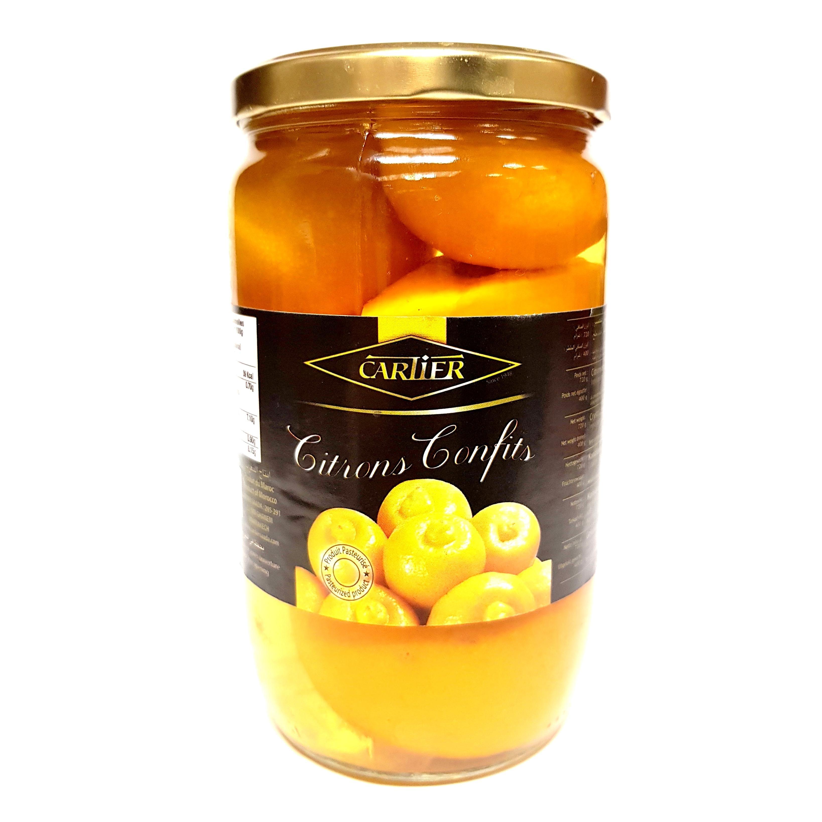 Cartier Eingelegte Zitronen Salzzitronen 400g