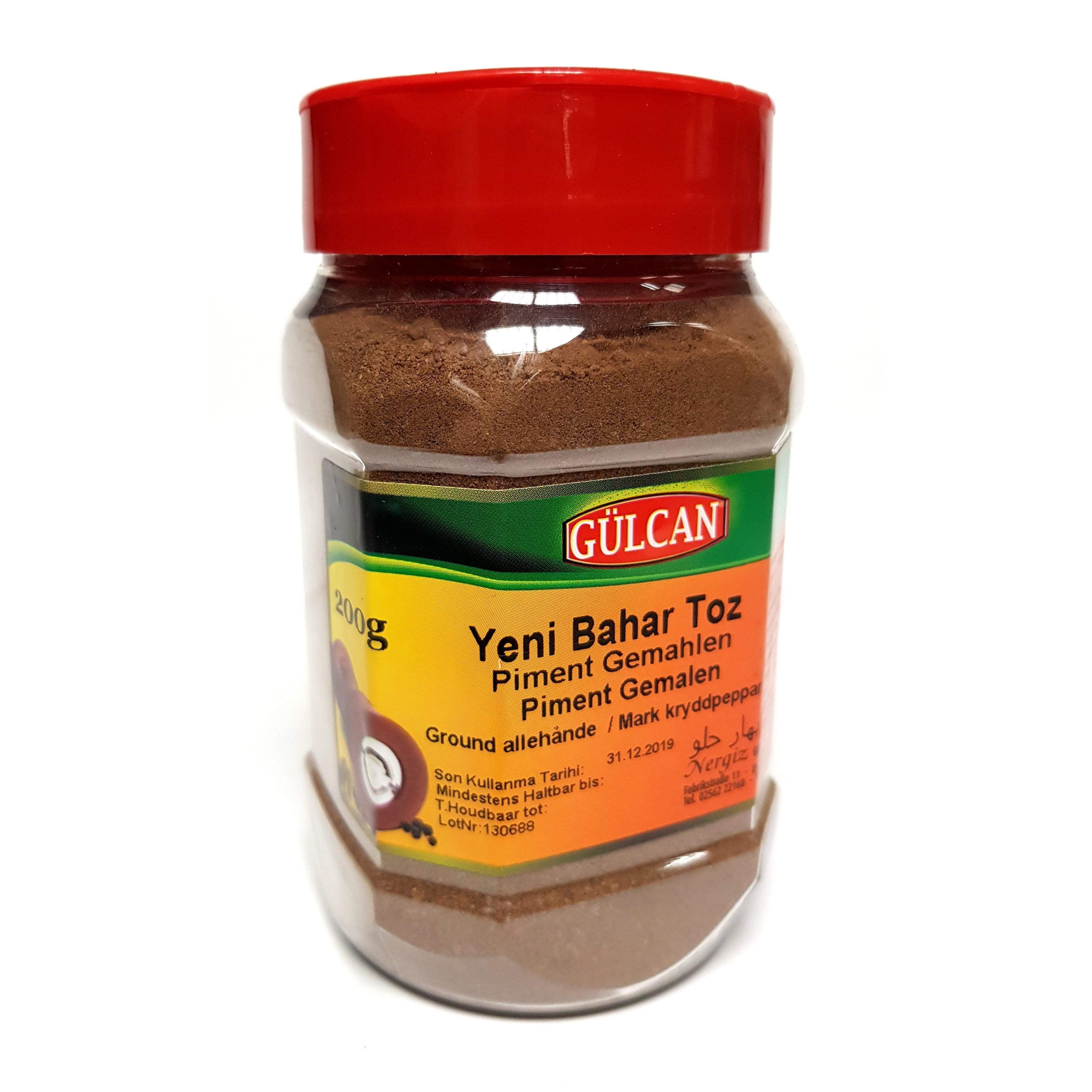 Gülcan Piment gemahlen - Nelkenpfeffer - Yeni Bahar Toz (200g)