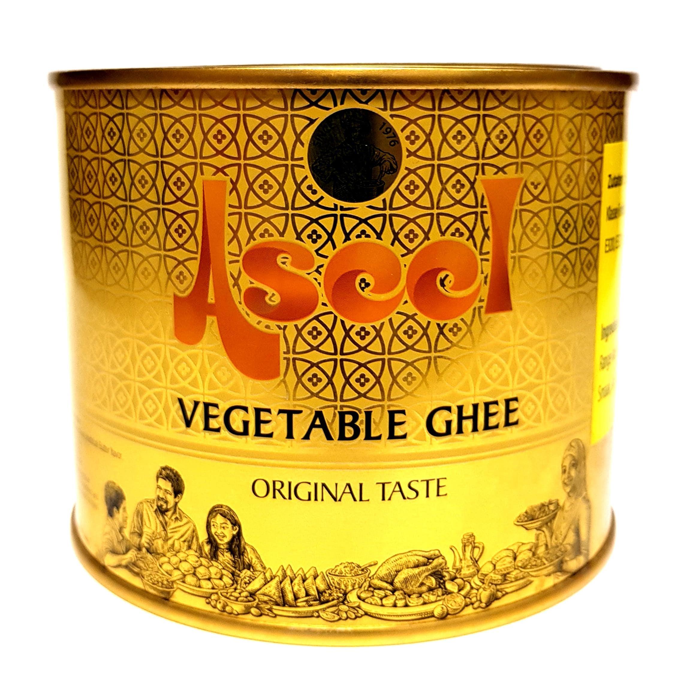 Aseel vegetable Ghee Pflanzenfett 500g