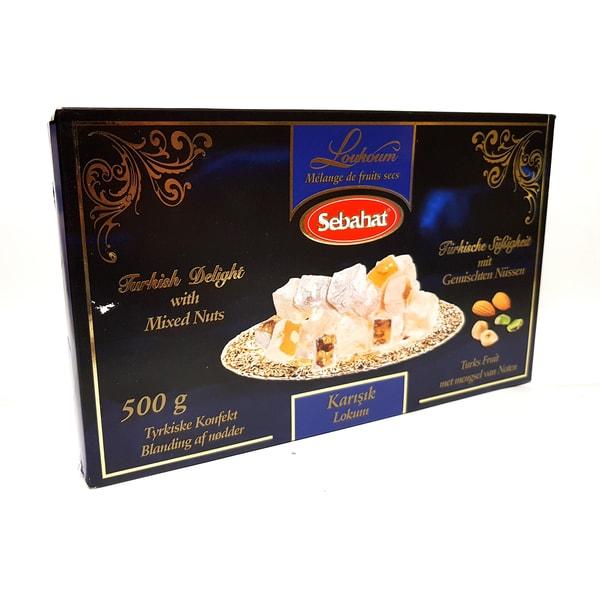 Sebahat Türkischer Honig Nüsse Mix 500g