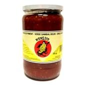 Wendjoe Sambal Oelek – Rote scharfe Chilli Soße 725g