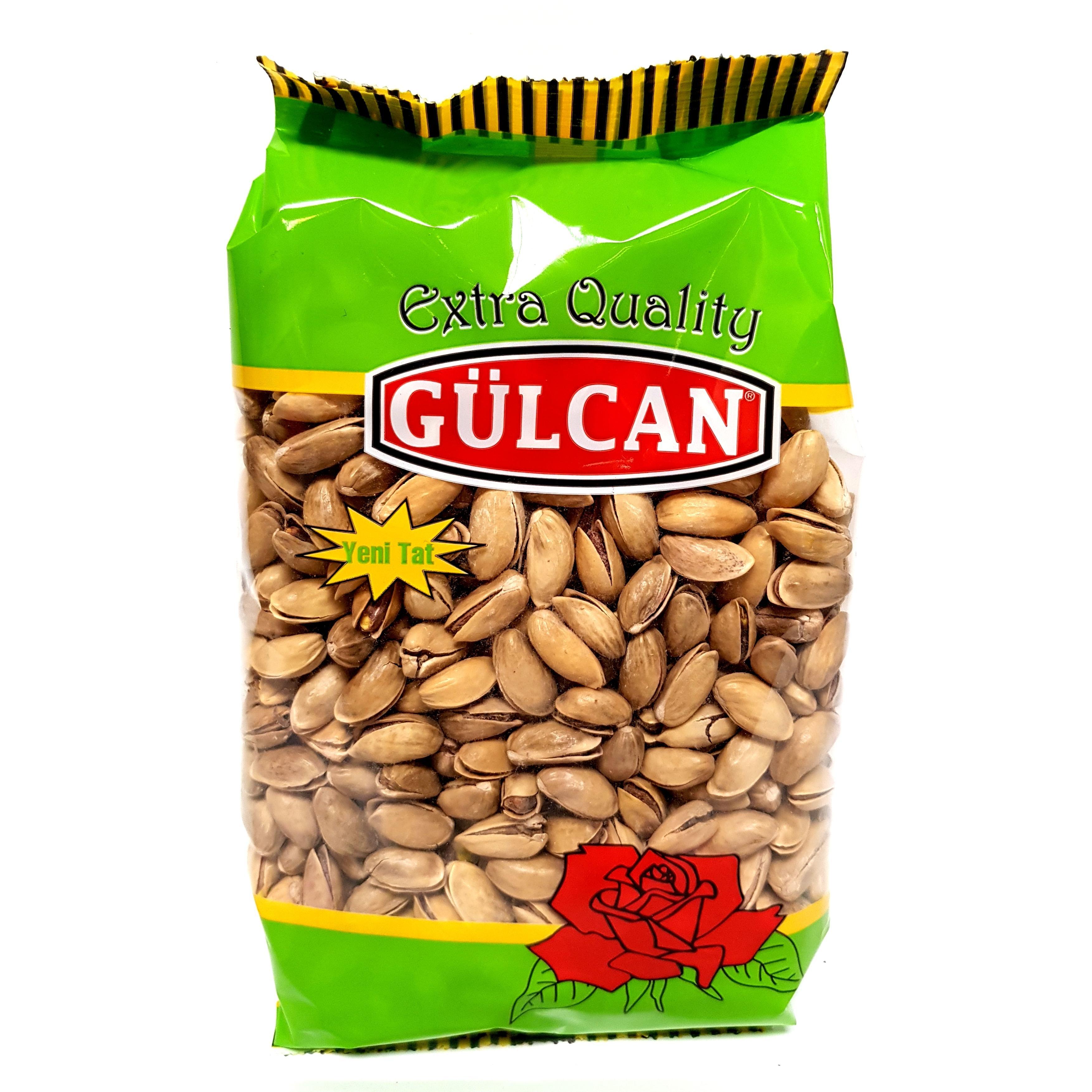 Gülcan Pistazien geröstet und gesalzen ungeschält 700g