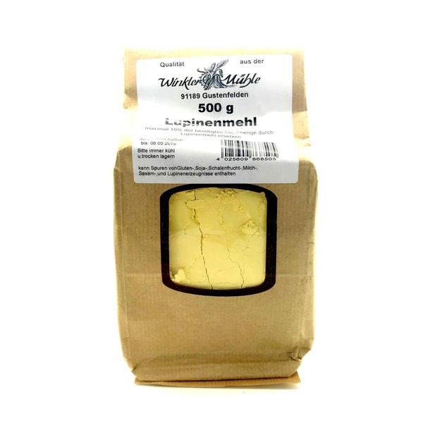 Winkler Mühle Lupinenmehl aus der weißen Süßlupine 500g