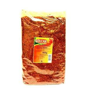 Gülcan Chiliflocken Paprikaflocken im Beutel aromatisch scharf 800g