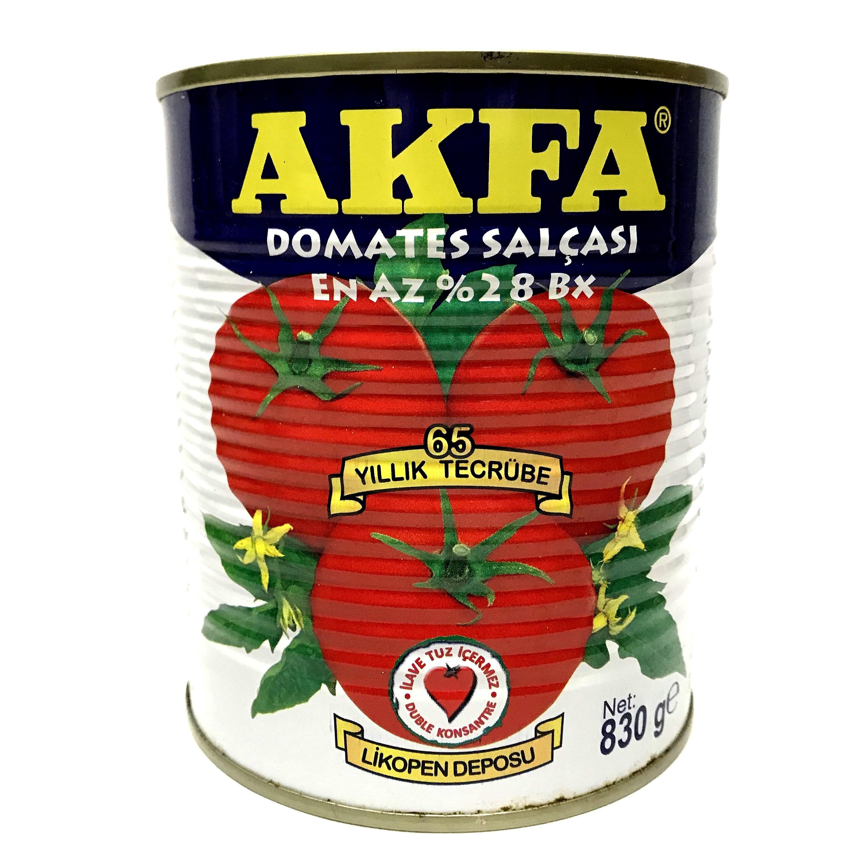 Akfa Tomatenmark Doppel Konzentriert 28-30% 830g