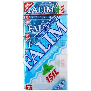 """Falim Kaugummi mit Minzaroma und Zahnweiß Effekt """"isil""""(mit Süßstoff) (20 x 5 Stück/140g"""