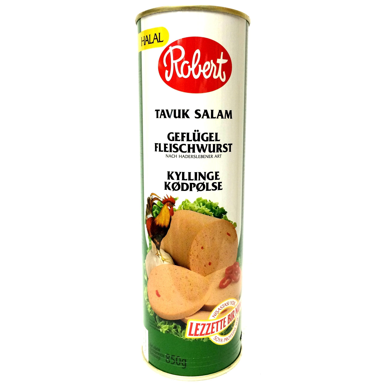 Robert Geflügel Fleischwurst - Frühstücksfleisch 850g