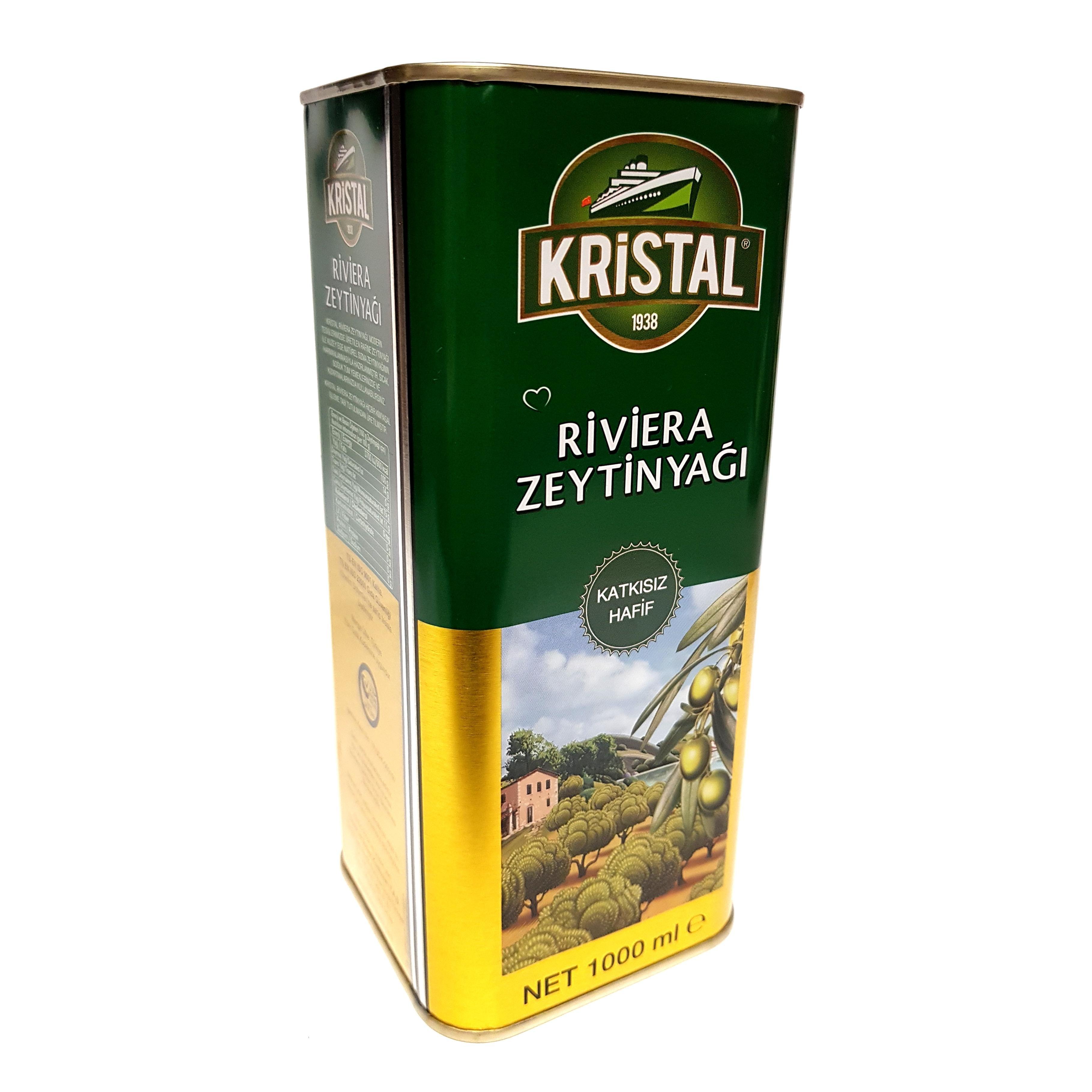 Kristal Riviera raffiniertes Olivenöl (1000ml)