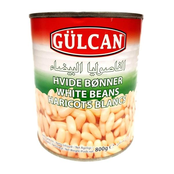 Gülcan vorgekochte weiße Bohnen 480g