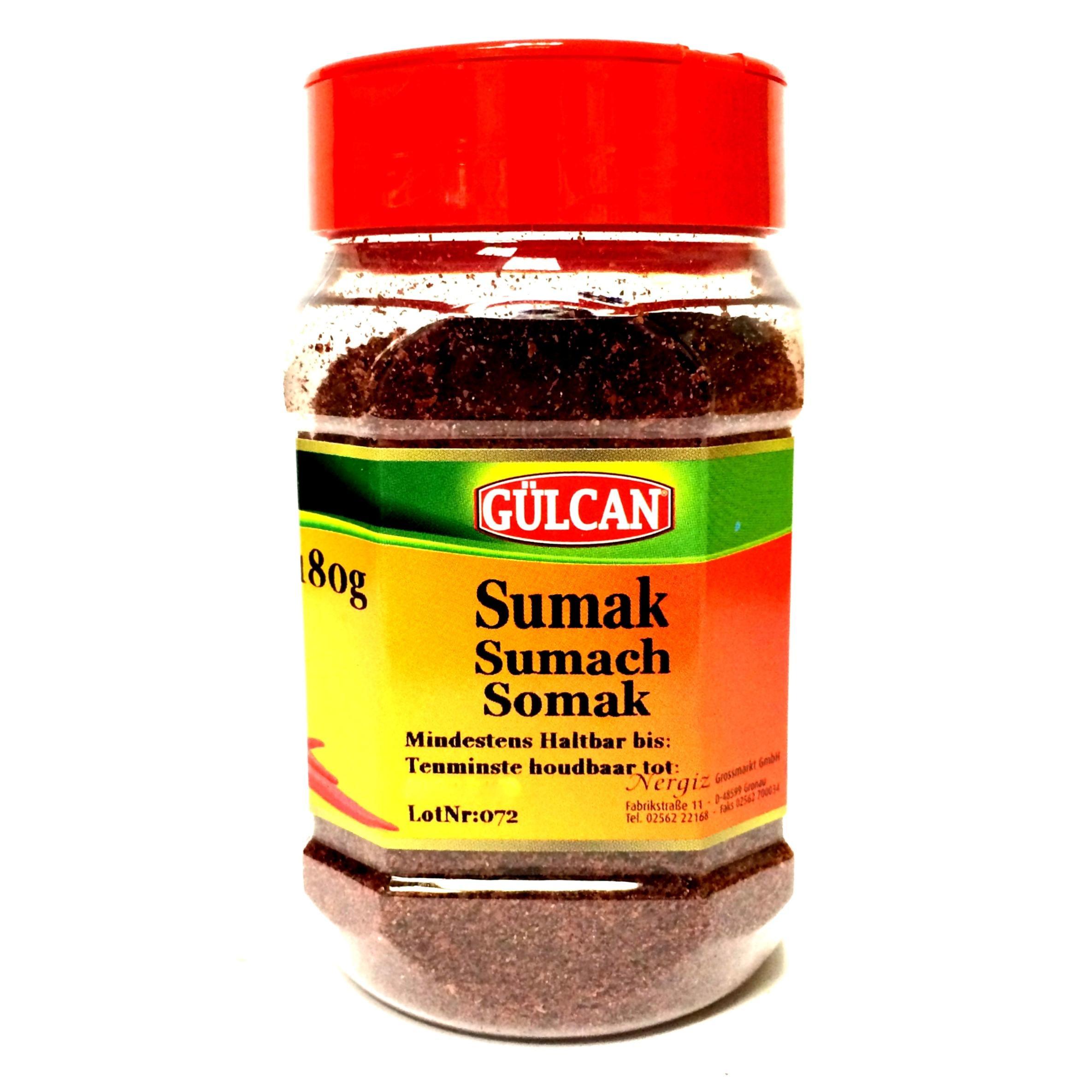 Gülcan Sumak – Sumach Gewürz (gemahlen) 180g