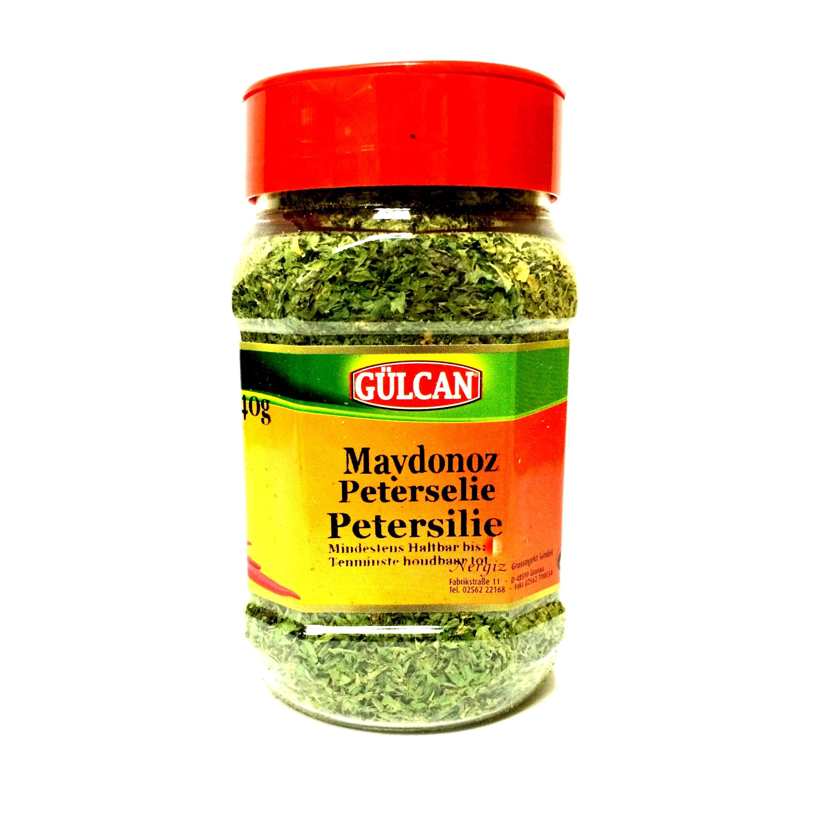 Gülcan Petersilie glatt (getrocknet) 40g