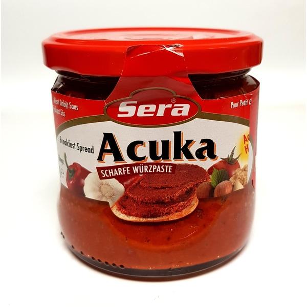 Sera scharfe Würzpaste Brotaufstrich Acuka Acili 340g
