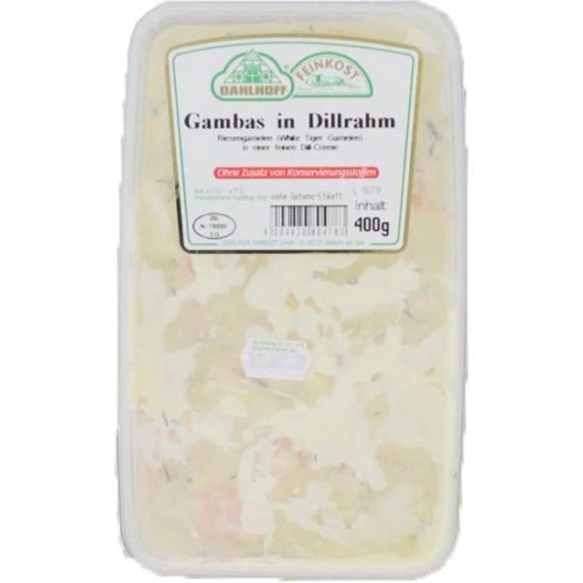 Dahlhoff Gambas in Dillrahm ca. 0,4 kg