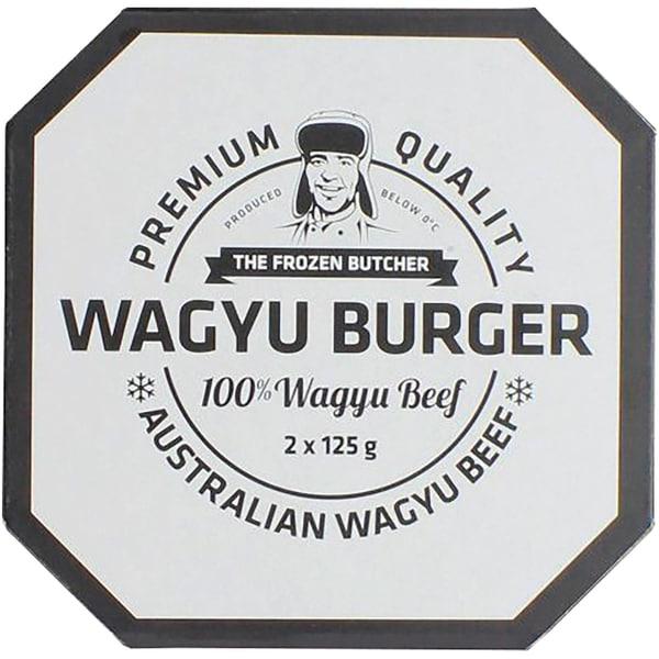 Frozen Butcher Burger Wagyu Beef 250g
