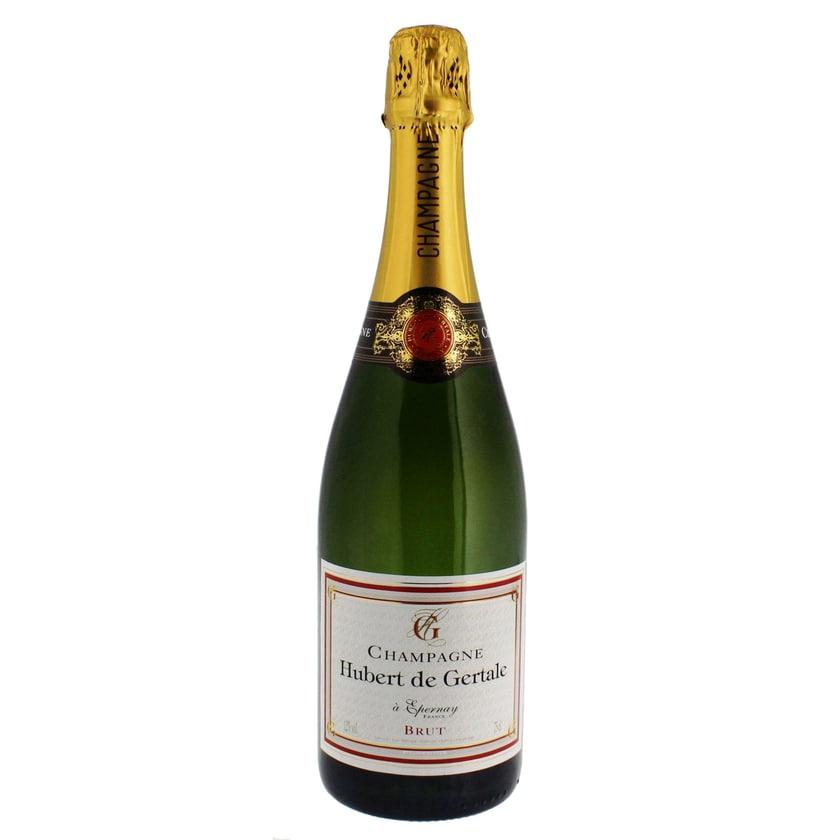 Hubert de Gertale Champagne brut AOC 0,75l