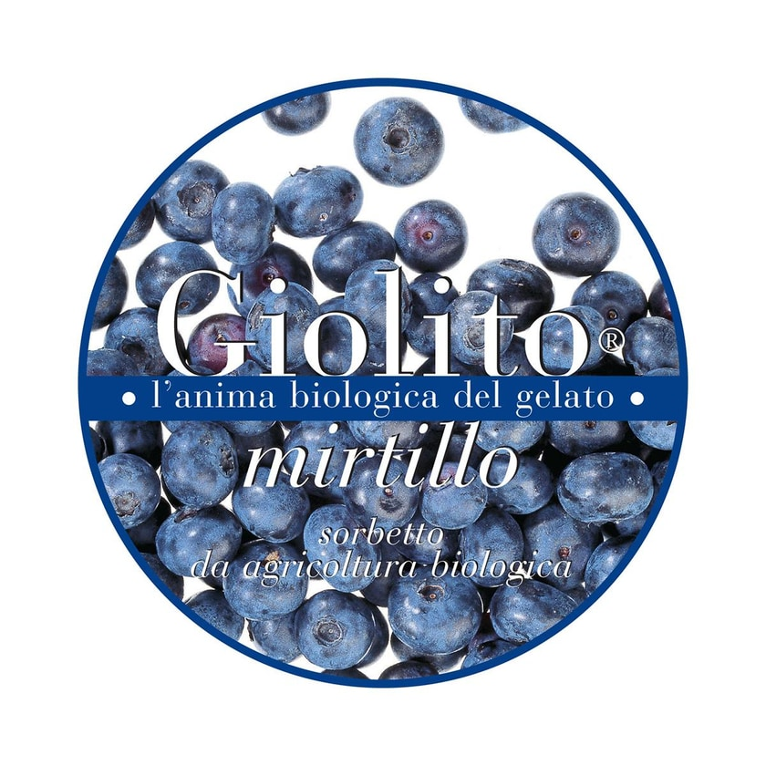 Giolito Heidelbeersorbet 500ml