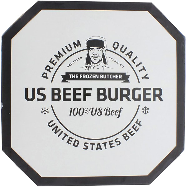 Frozen Butcher Burger US Beef 2,4kg