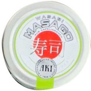 AKI Wasabi Masago Kaviar grün ca. 100 g