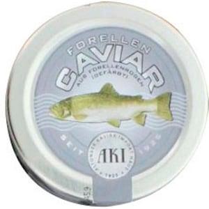 AKI Forellen Kaviar schwarz ca. 100 g