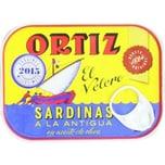 Ortiz Sardinen in Olivenöl ca. 140 g
