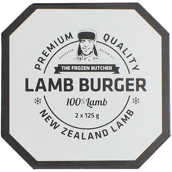Frozen Butcher Burger Lamm tiefgekühlt 250g
