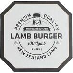 Frozen Butcher Burger Lamm 250g