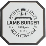 Frozen Butcher Burger Lamm 250g