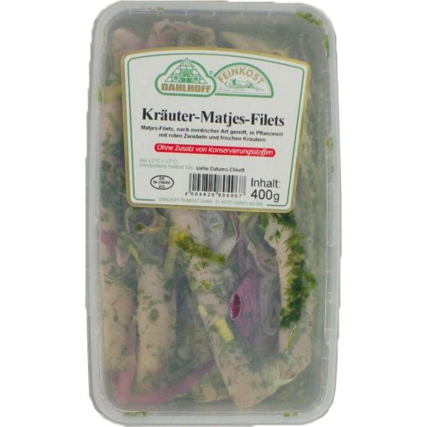 Dahlhoff MSC Kräuter-Matjes-Filets in Öl eingelegt ca. 0,4 kg
